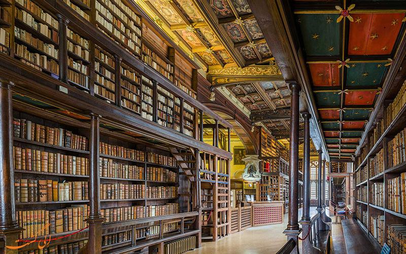 کتابخانه بادلین بزرگترین در شهر آکسفور