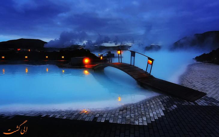 دریاچه آبی ایسلند