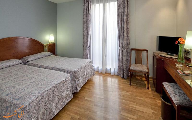 امکانات اتاق های هتل گارگالو ریالتو بارسلونا