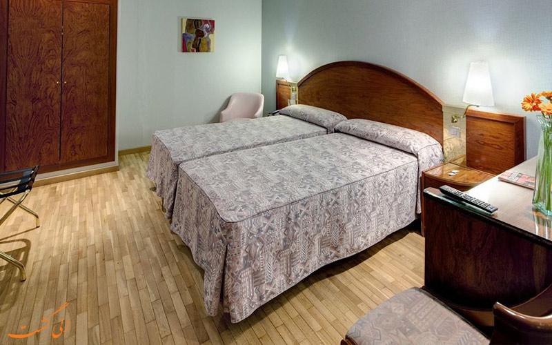 انواع اتاق های هتل گارگالو ریالتو بارسلونا