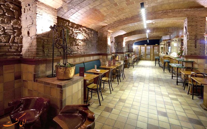 هتل گارگالو ریالتو بارسلونا- رستوران هتل