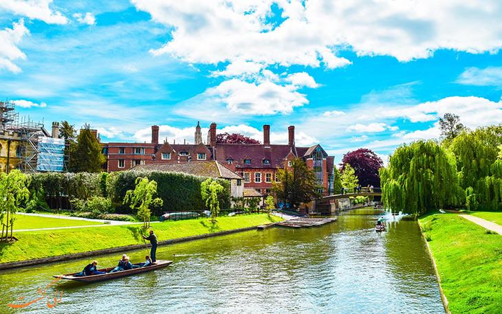 شهر کمبریج در انگلستان