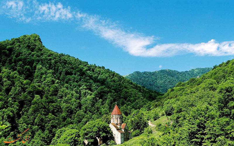 پارک ملی اطراف دریاچه سوان در ارمنستان