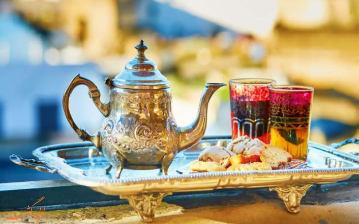 سرویس های چایخوری مراکشی