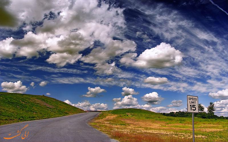 انواع ابرها- .ضعیت آب و هوا در سفر
