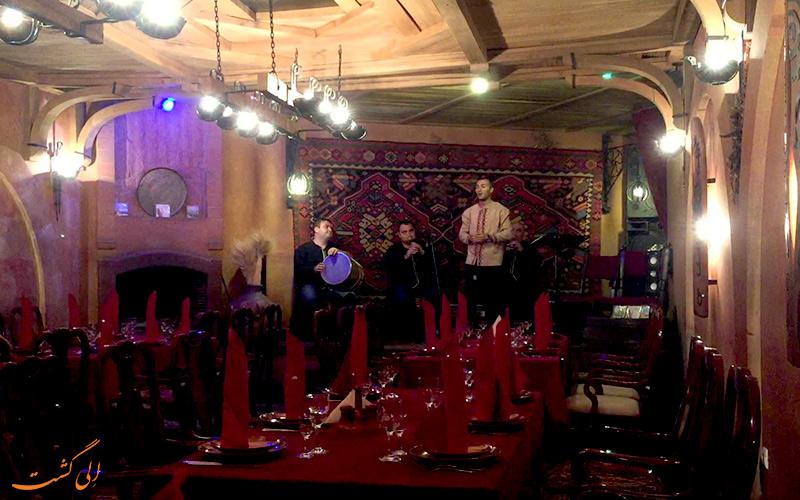 انوش، رستوران مجلل و لاکچری در ایروان