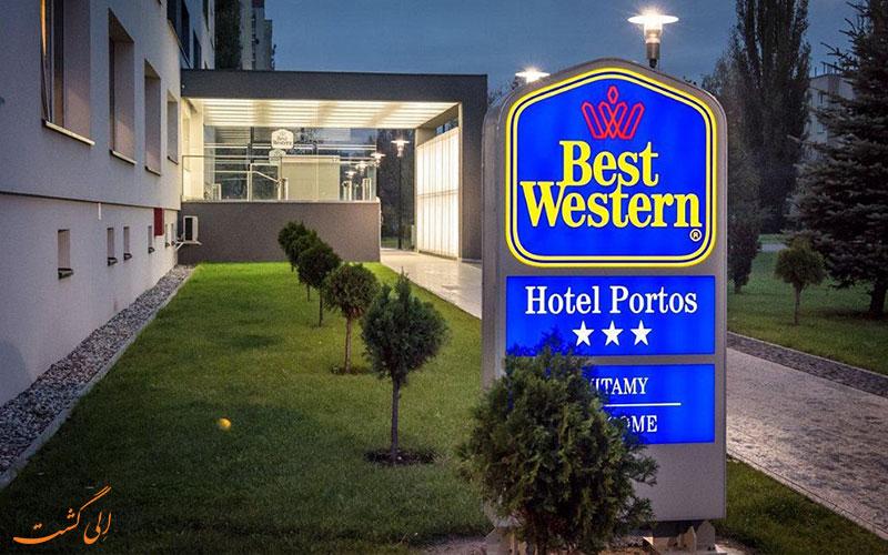 هتل بست وسترن پورتوس ورشو- ورودی هتل