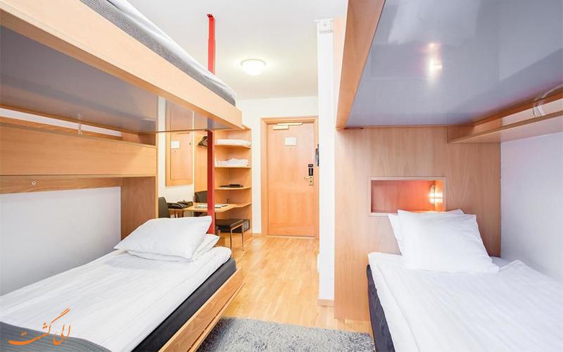 انواع اتاق های هتل بست وسترن کوم استکهلم