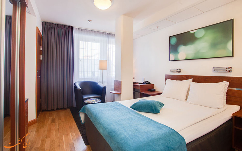 امکانات اتاق های هتل بست وسترن کوم استکهلم