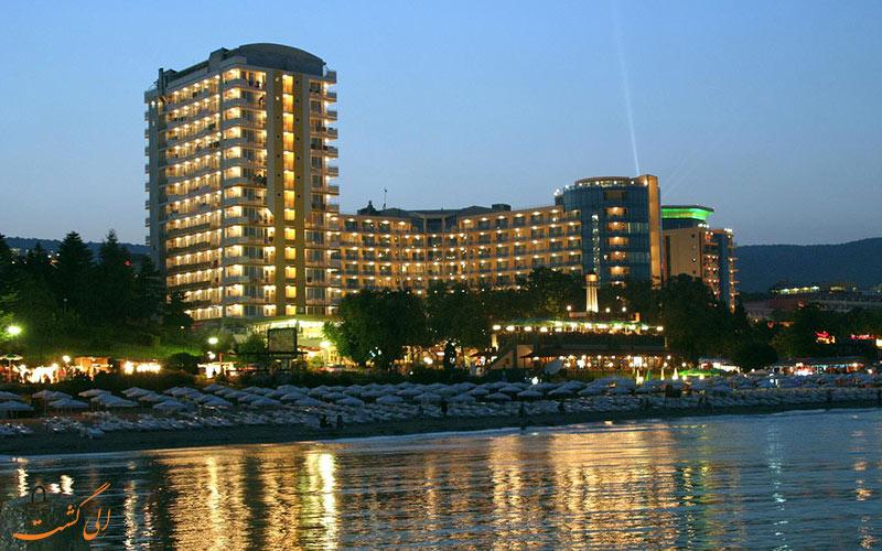 Bonita Hotel varna- eligasht.com نمای هتل از دریاز