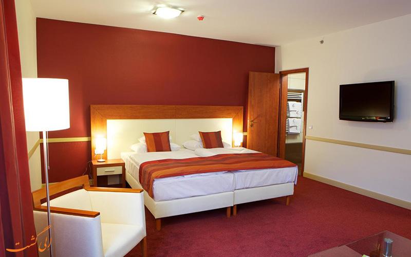 امکانات اتاق های هتل سیتی این بوداپست