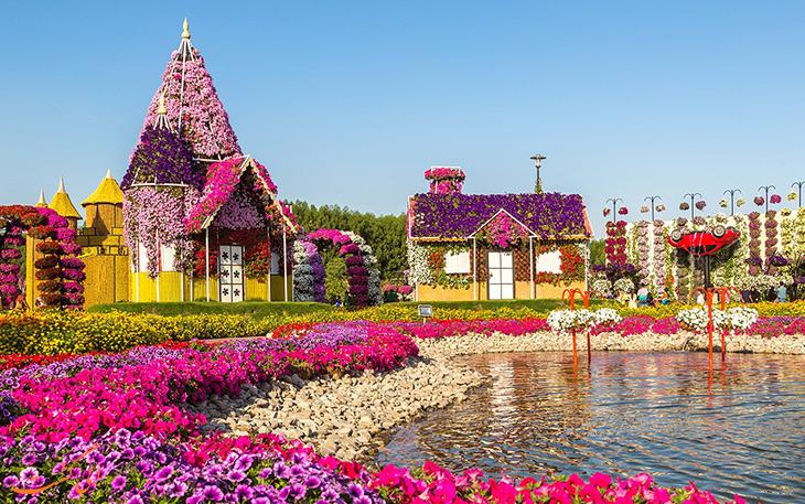 باغ معجزه ی دبی