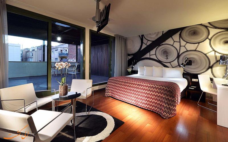 هتل یورو استارز بی سی ان دیزاین بارسلونا
