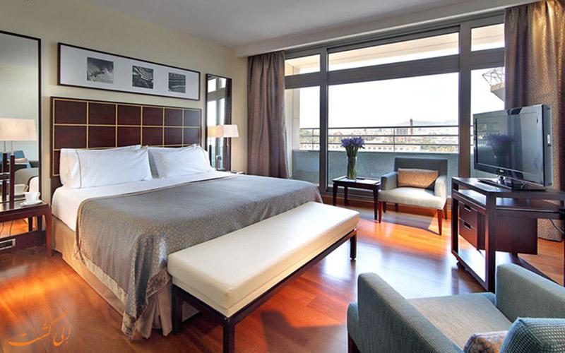 امکانات اتاق های هتل یورو استارز گرند مارینا بارسلونا