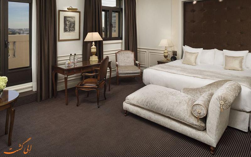 اتاق های هتل گرند ملیا فنیکس مادرید