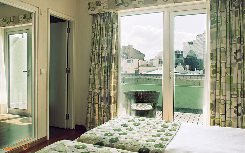 امکانات اتاق های هتل فلوریدا لیسبون