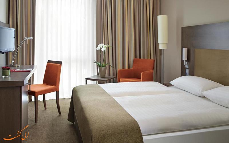 امکانات اتاق های هتل اینترسیتی برلین
