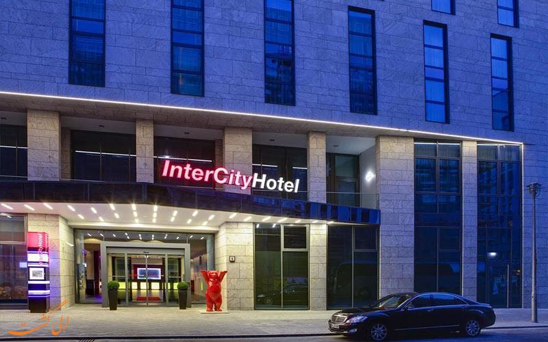 هتل اینترسیتی برلین- ورودی هتل