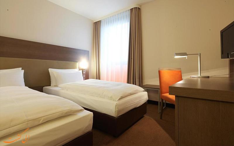انواع اتاق های هتل اینترسیتی برلین