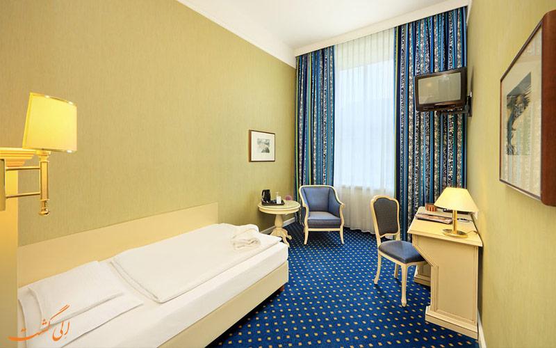 انواع اتاق های هتل دو فرانس وین