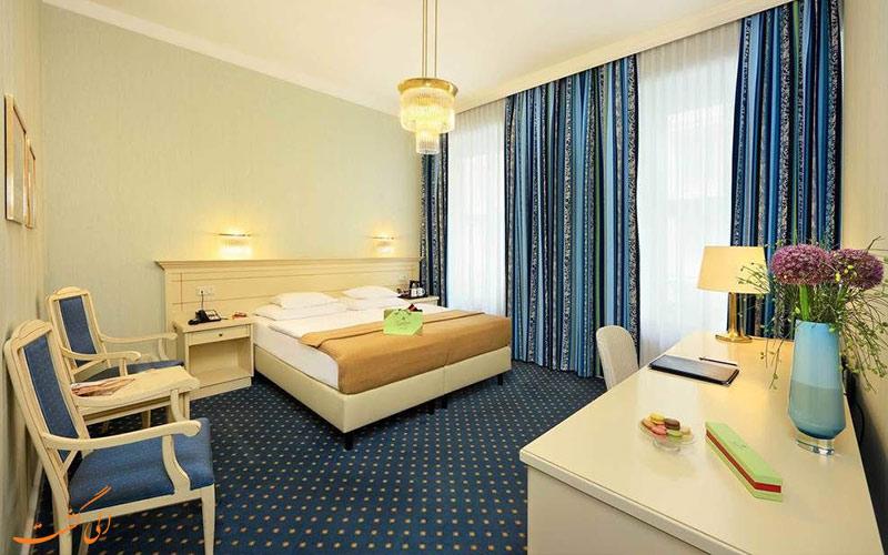 امکانات اتاق های هتل دو فرانس وین