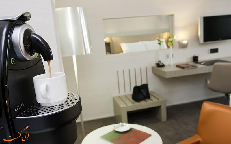انواع اتاق های هتل پولمن سنتر تولوز