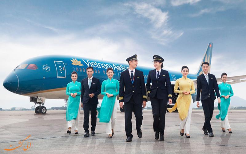 تاریخچه ی شرکت هواپیمایی ویتنام ایرلاینز