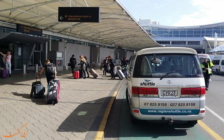 گزینه های حمل و نقل فرودگاه اوکلند