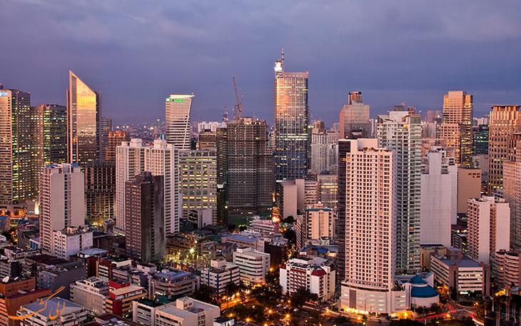 مرکز شهر مانیل فیلیپین
