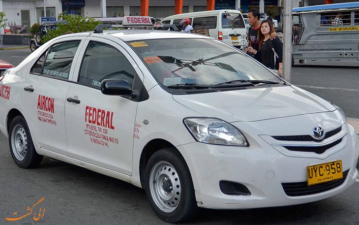 تاکسی کوپنی مانیل