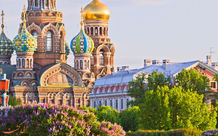 سفر به سنت پترزبورگ روسیه