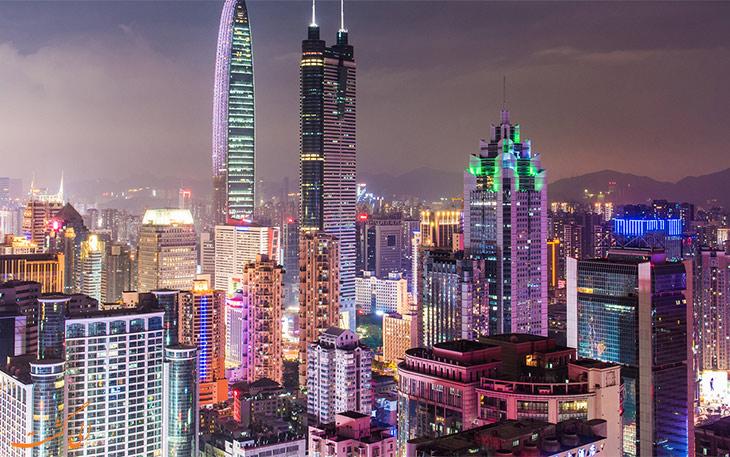 شهر شنزن در چین