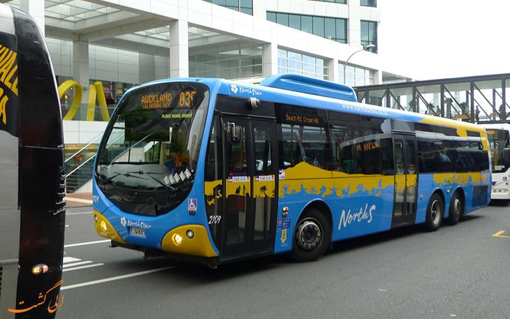 اتوبوس شاتل فرودگاه اوکلند