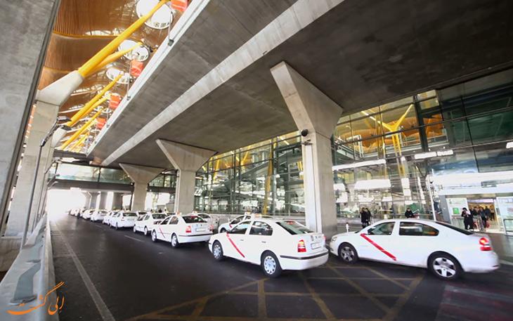تاکسی فرودگاه مادرید