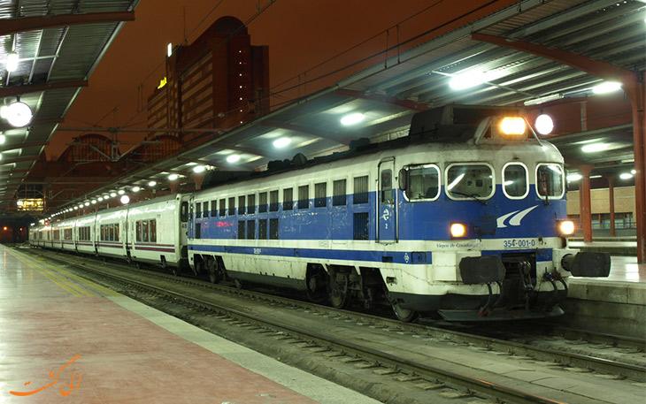 قطار مادرید