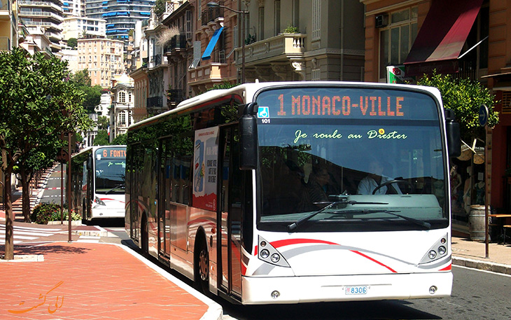 هزینه های حمل و نقل در موناکو