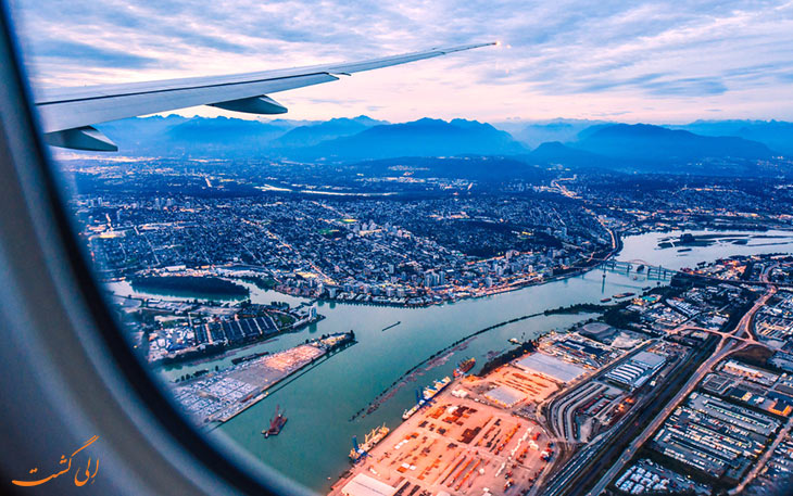 حمل و نقل فرودگاه ونکوور