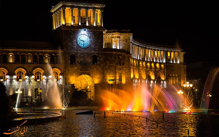 میدان جمهوری در ایروان