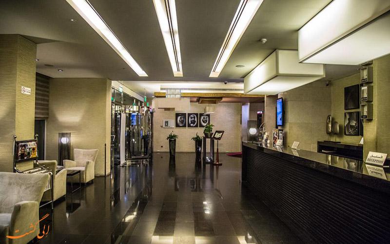 هتل سافرون بوتیک دبی | لابی