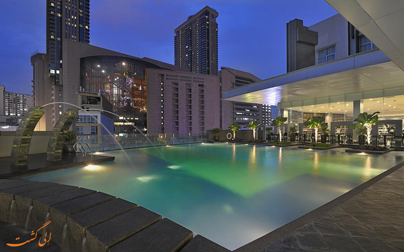 هتل فوراما بوکیت بینتانگ کوالالامپور | استخر