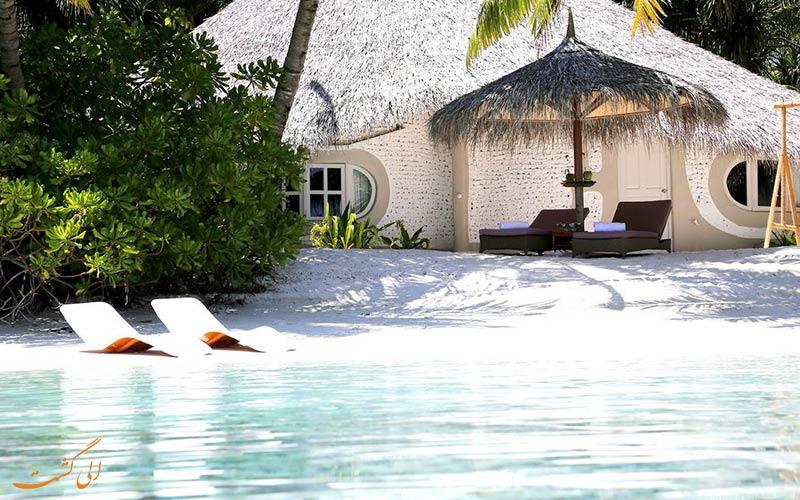 یک ویلا در هتل نیکا آیلند ریزورت مالدیو