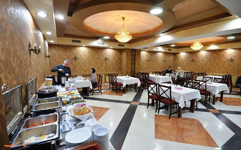 هتل ایروان دلوکس | رستوران