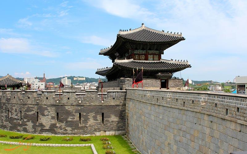 قلعه هواسونگ | جاذبه کره