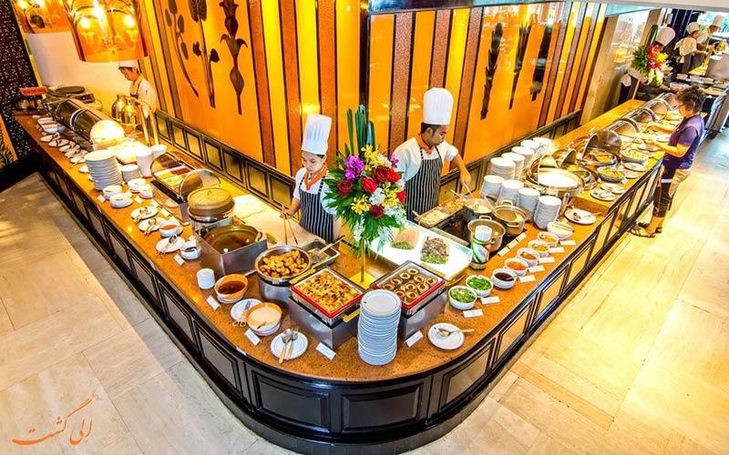 هتل رویال بیچ کلیف تراس پاتایا | رستوران