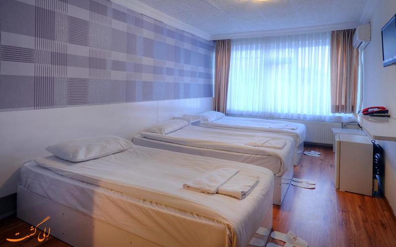 هتل ابرو نکاتیبی آنکارا   اتاق تریپل
