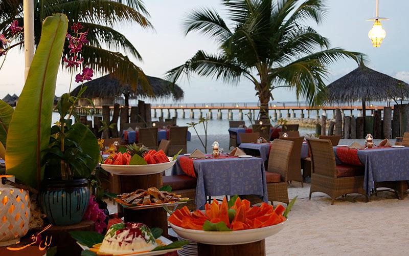 رستوران در هتل نیکا آیلند ریزورت مالدیو