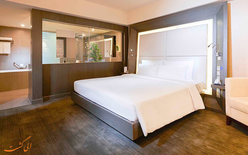 هتل نووتل سانیوئان پکن   تخت دبل