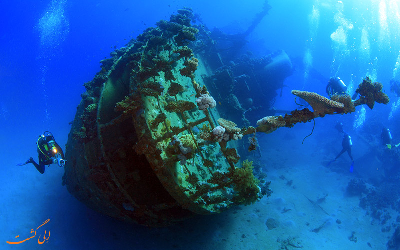 بقایای کشتی خلیج کورون