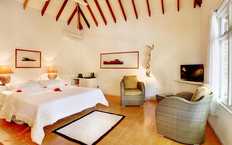 هتل نیکا آیلند ریزورت مالدیو | اتاق خواب