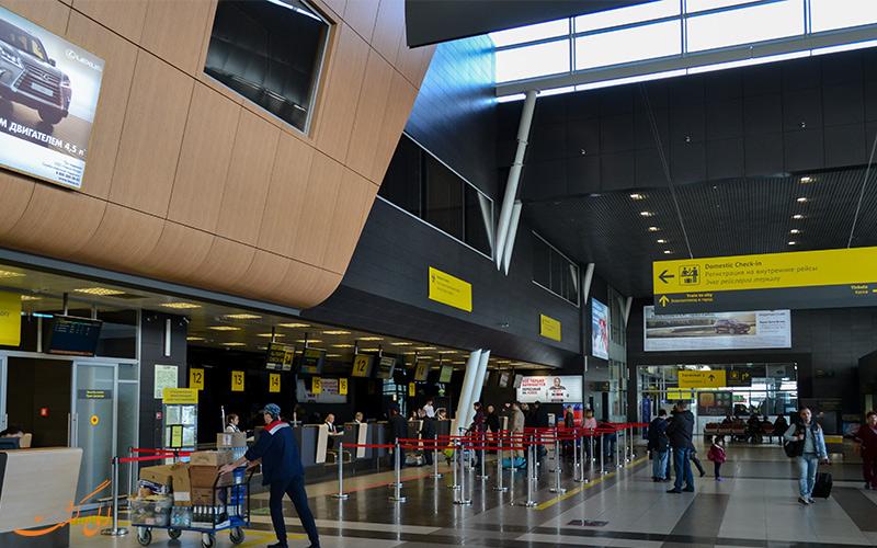 ترمینال های فرودگاه بین المللی کازان